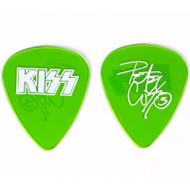 KISS Guitar Pick - Peter Criss Farewell 2000 Tour (light green).