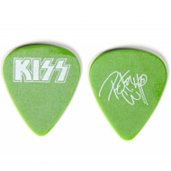 KISS Guitar Pick - Peter Criss Farewell 2000 Tour (powder green).