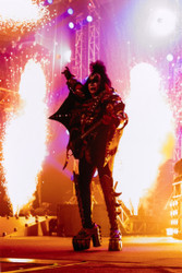 KISS Photo - New Makeup Era, 8x10 -METALLIC PRINT, MP85