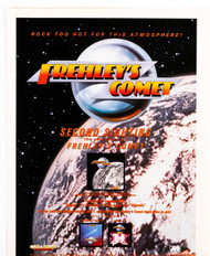 KISS Ad - Frehley's Comet magazine ad