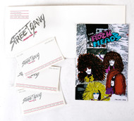 Eric Carr Personal Business Cards, Envelope.