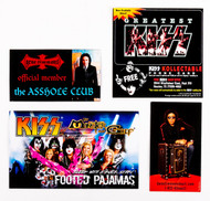 KISS Cards and Mini-Fliers, (set of 4)