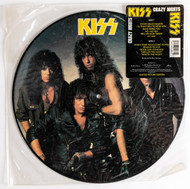 KISS Vinyl Record LP - Crazy Nights, PICTURE DISC