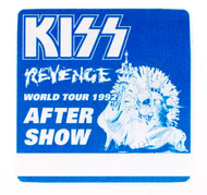 KISS Backstage Pass -  Revenge After-show BLUE.