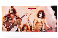 KISS Magazine Fold-Out - MO1, (split)
