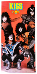 KISS Magazine Fold-Out - (tack holes), MO4