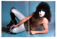 KISS Pull-Out - Paul Silver Pants reclined 1978 - M24