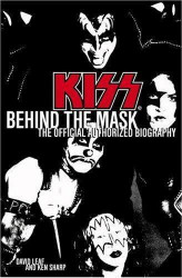KISS book - Behind the Mask, (hard cover)
