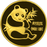 1982 Panda 100 Yuan 1 oz Gold NGC MS68