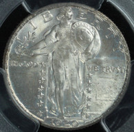 1929 Standing Liberty Quarter PCGS MS65 Full Head