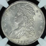 1836 Bust Half Dollar NGC MS62