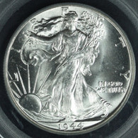 1944 Walking Liberty Half Dollar PCGS MS65