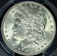 1889 Morgan S$1 PCGS MS65