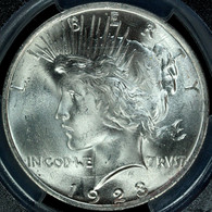 1923 Peace S$1 PCGS MS65+