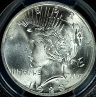 1923 Peace S$1 PCGS MS66 CAC Approved