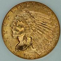 1925-D $2.50 Gold Indian NGC MS65