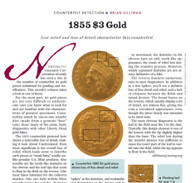Article: 1855 $3 Gold Counterfeit