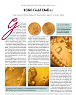 Article: 1853 Gold Dollar Counterfeit
