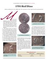 Article: 1795 Half Dime Counterfeit