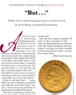 """Articles: """"But..."""" Coins. Thoughts on Buying Coins"""