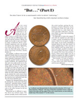 "Article: ""But..."" Coins; Familiarity with Original Surfaces"