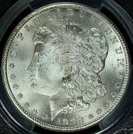 1882-CC Morgan $1 PCGS MS65