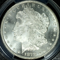 1878-CC Morgan Silver Dollar PCGS MS65