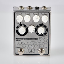 David Rolo Drolo Molecular Disruption Device Guitar Pedal Modulation Bit Crusher Ring Mod Delay Pitch Digital with Analog Dry-Through