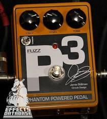 DC Voltage Jamie Stillman P3 Fuzz Pedal Earthquaker Devices
