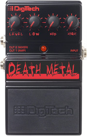 Digitech Death Metal High-Gain Distortion Pedal