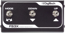 Digitech FS3X 3 button footswitch for Jamman Looper and others