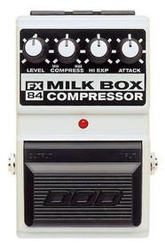 Vintage DOD FX84 Milk Box Compressor guitar pedal