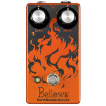 Earthquaker Devices Bellows Fuzz Driver guitar fuzz pedal w film capacitors and carbon-composition resistors