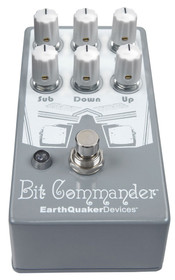 Earthquaker Devices Bit Commander monophonic analog guitar synthesizer octave fuzz pedal