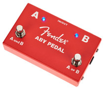 Fender ABY splitter and amp guitar switcher pedal
