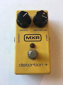MXR Distortion + Vintage Pedal 1980