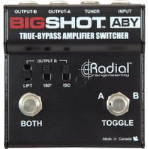 Radial Engineering Big Shot ABY True Bypass Amplifier Switch Switcher