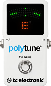 TC Electronic Polytune 2 Guitar Pedal Tuner