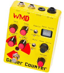 WMD Geiger Counter Bit Crusher Digital 8 Bit guitar pedal