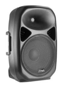 "STAGG 12"" 2-way active speaker, analog, class A/B, Bluetooth wireless technology, 200 watts peak power"