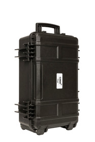 STAGG Water- and dustproof universal transport case with pick and pluck foam 53x31x20cm
