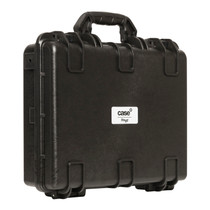 STAGG Water- and dustproof universal transport case with pick and pluck foam 45x34x12cm