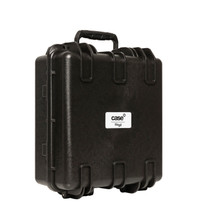 STAGG Water- and dustproof universal transport case with pick and pluck foam 33x35x17cm