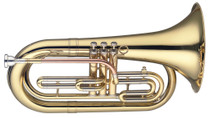 STAGG Bb Marching Baritone, 3 pistons in stainless steel