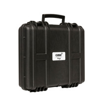 STAGG Water- and dustproof universal transport case with pick and pluck foam 39x31x9 cm