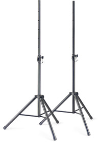 STAGG Q series steel speaker stand pair with folding legs SET OF 2