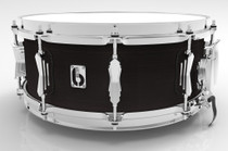 "BRITISH DRUM CO. 14 x 5.5"" Legend snare drum, cold-pressed birch 6 mm shell, Kensington Knight finish"