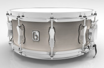 "BRITISH DRUM CO. 14 x 5.5"" Legend snare drum, cold-pressed birch 6 mm shell, Whitechapel finish"