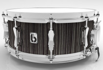 "BRITISH DRUM CO. 14 x 6.5"" Legend snare drum, cold-pressed birch 6 mm shell, Carnaby Slate finish"