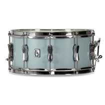 "BRITISH DRUM CO. 14 x 6.5"" Legend snare drum, cold-pressed birch 6 mm shell, Night Skye finish"